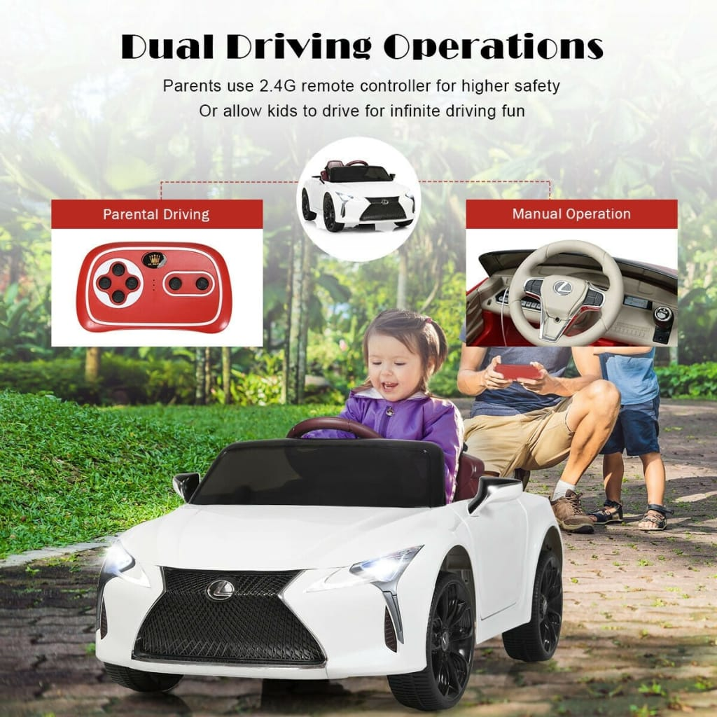 Kids Ride Lexus LC500 Licensed Remote Control Electric