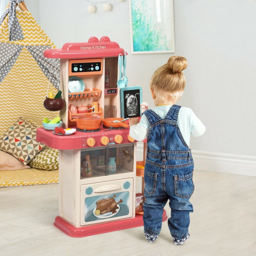 Kitchen Playset With Simulation Of Spray And Realistic