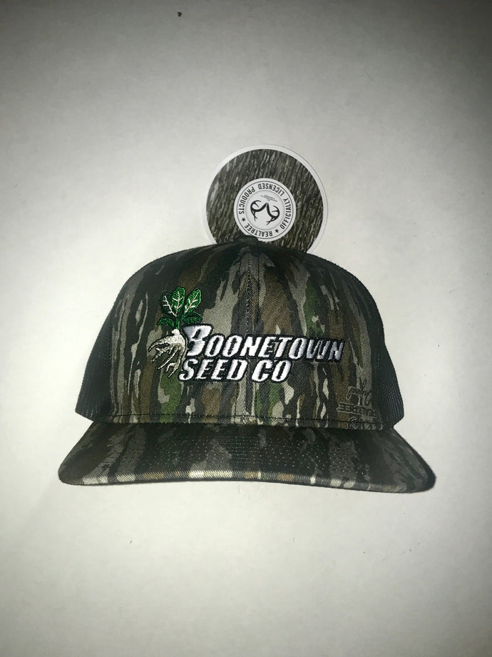 Richardson 112 Realtree Original Mesh Back Boonetown Seed Logo Hat