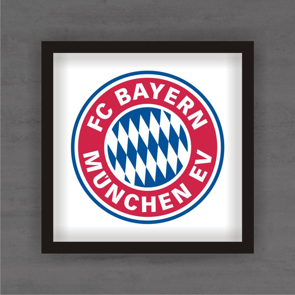 Quadro Decorativo Bayern de Munique Com Moldura
