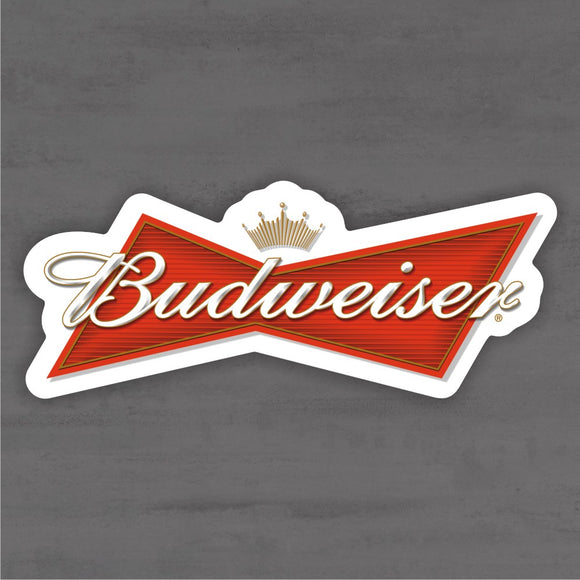 Quadro Decorativo de Bar - Budweiser - Mdf 3mm