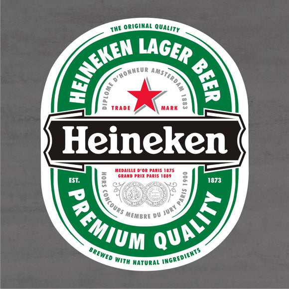 Quadro Decorativo de Bar - Heineken - Mdf 3mm