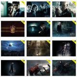 Kit 5 Placas Decorativas - Medida: 30 cm x 20 cm Harry Potter