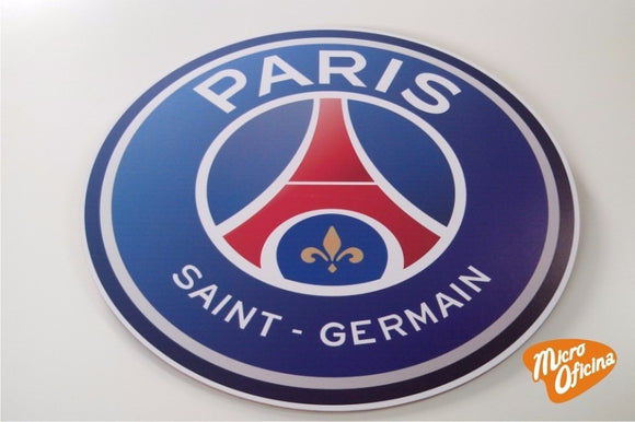 Quadro Decorativo de Times - Paris Saint Germain - PSG - Mdf 3mm
