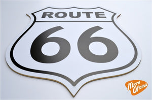 Quadro Decorativo de Bar - Route 66 - Mdf 3mm