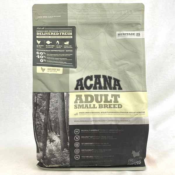 ACANA Adult Small Breed 2kg Dog Food Dry Acana