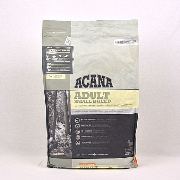 ACANA Adult Small Breed 6kg Dog Food Dry Acana
