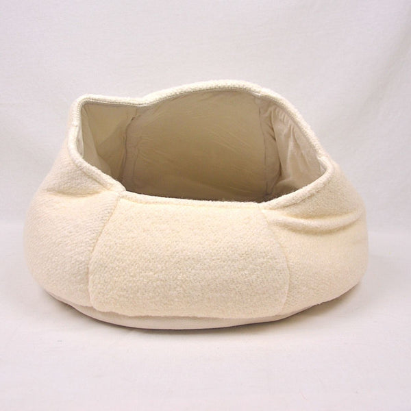 AFP Catzilla Nest Cat Bed White Pet Bed AFP