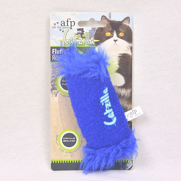 AFP Catzilla The Fluffy Roll Cat Toy AFP