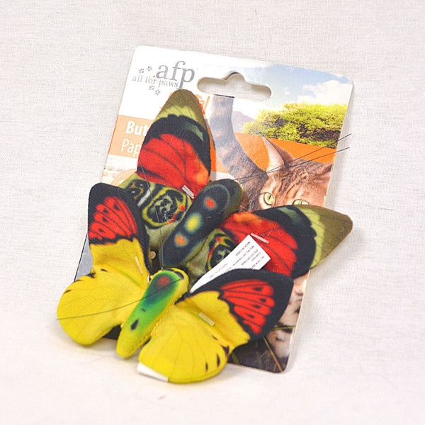 AFP Natural Instincts Butterflies Cat Toy AFP