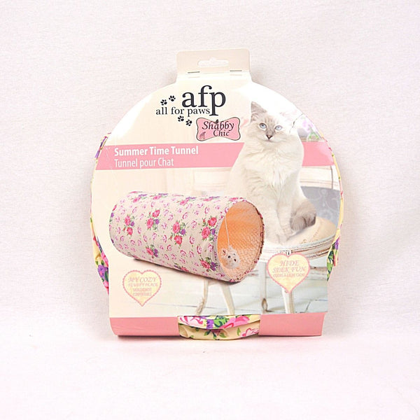 AFP Shabby Chic Cat Summertime Tunnel Cat Toy AFP