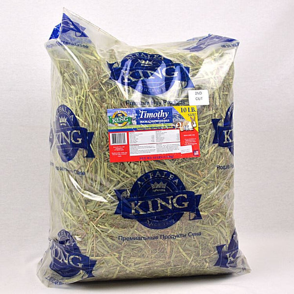 ALFALFA KING Timothy Hay 10lbs Small Animal Food King
