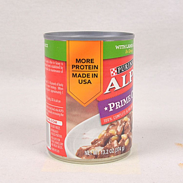 ALPO Prime Cuts Lamb and Rice Can 369g Dog Food Wet Purina