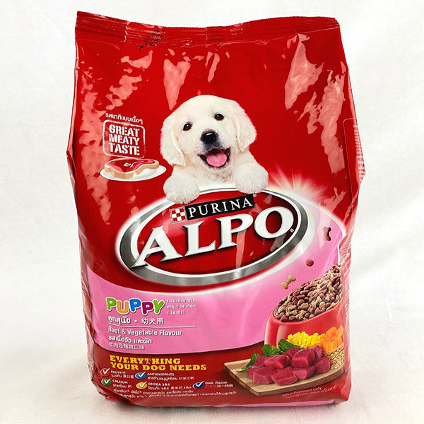 ALPO Puppy Beef Liver and Vegetables 1.3kg Dog Food Dry Alpo