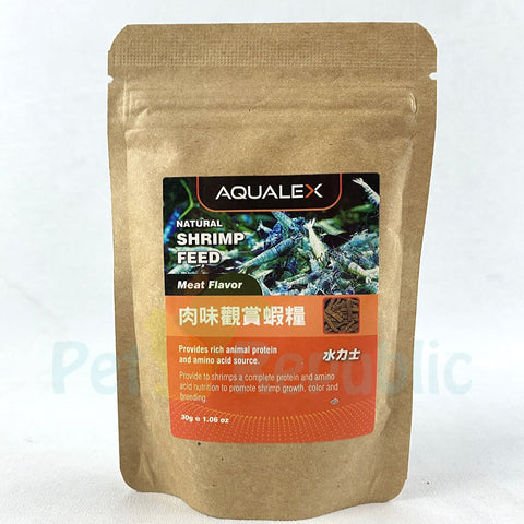 AQUALEX Shrimp Food Meat Flavor 30g Shrimp Food Aqualex