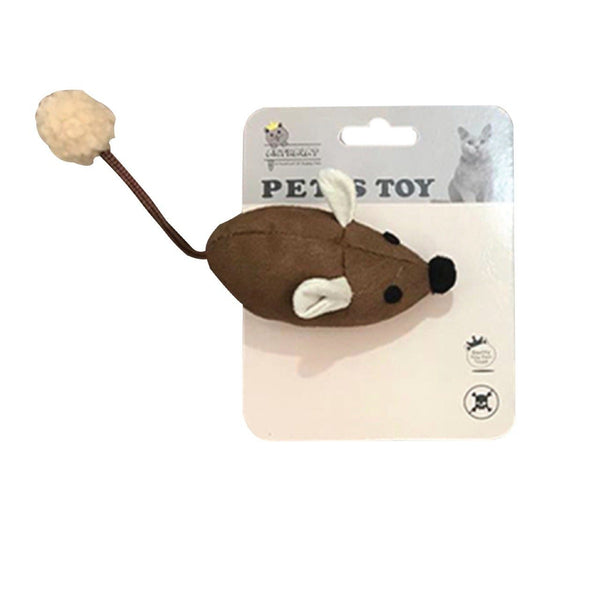 ARTHACAT Cat Toy MUIS Doll Cat Toy Arthacat BROWN