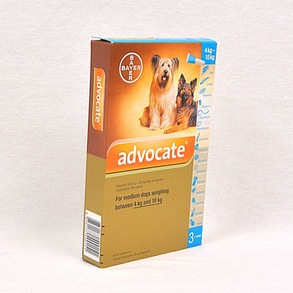 BAYER Advocate For 4kg-10kg 1pcs Pet Vitamin and Supplement Bayer
