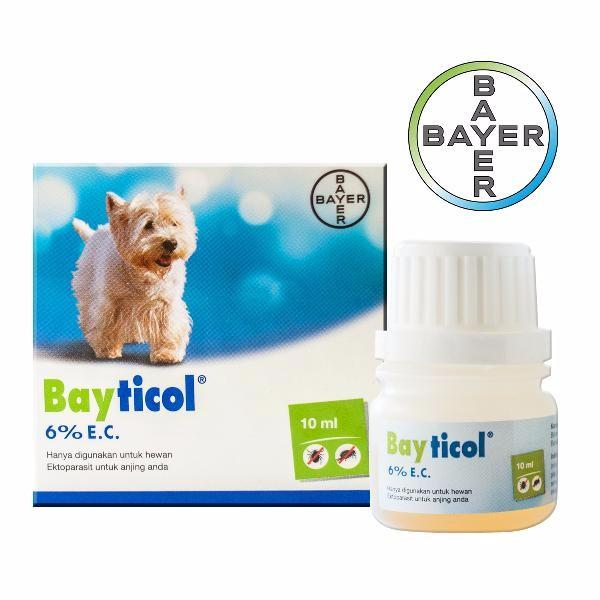 BAYER Bayticol 6% 10ml Grooming Medicated Care Bayticol
