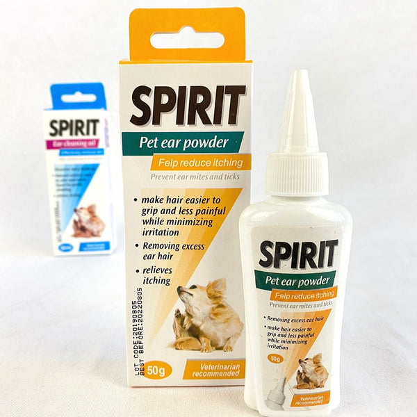 BBN Spirit Clean Ear Powder 50g Grooming Pet Care BBN