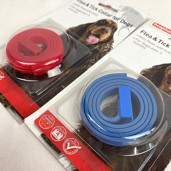 BEAPHAR Flea and Tick Collar For Dog Pet Medicated Care Beaphar