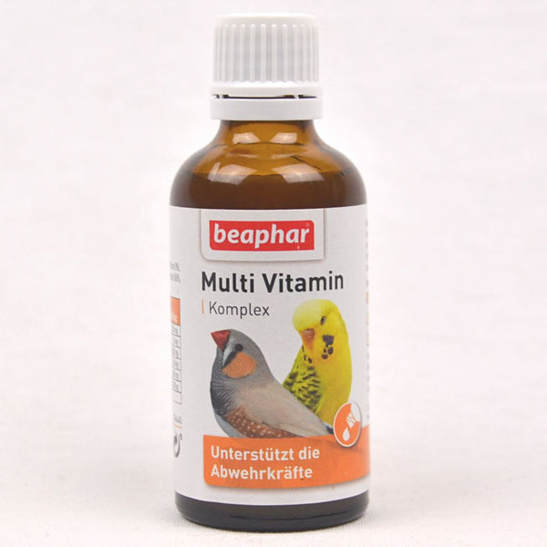 BEAPHAR Multi Vitamin Komplex Vogel 50ml Pet Vitamin and Supplement Beaphar