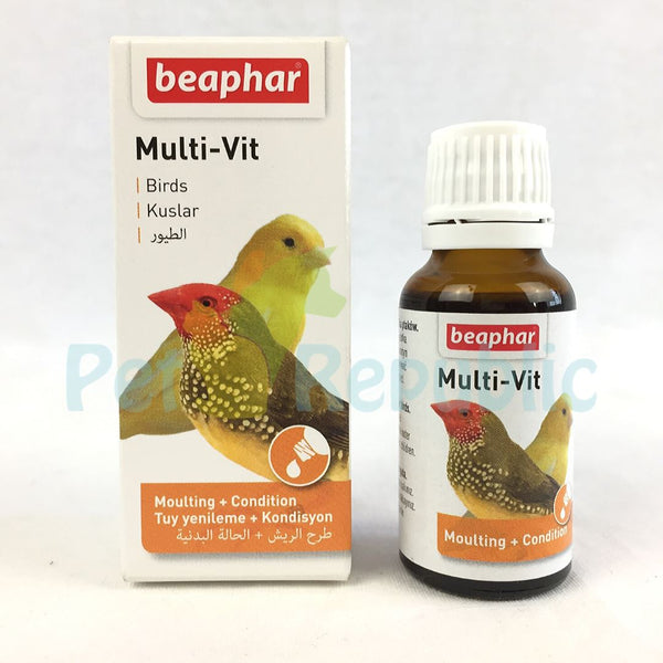 BEAPHAR Multivitamin Bird 20ml - Pet Republic Jakarta