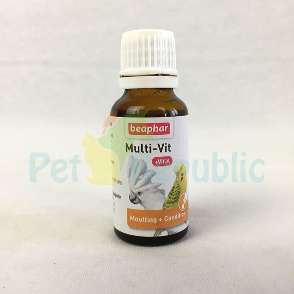 BEAPHAR Multivitamin Parrot 20ml - Pet Republic Jakarta