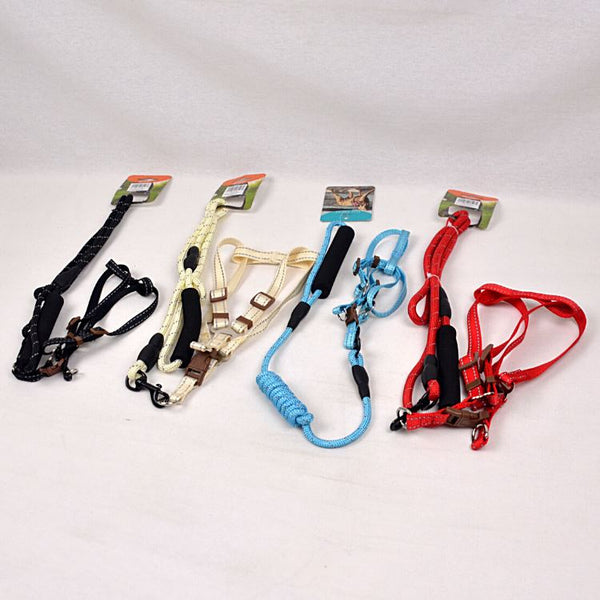 BEJIARY CP15 Rope and Harness Pet Collar and Leash Bejiary