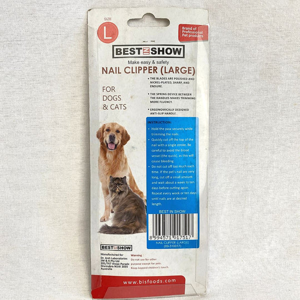 BESTINSHOW Nail Clipper Large Grooming Tools Best In Show