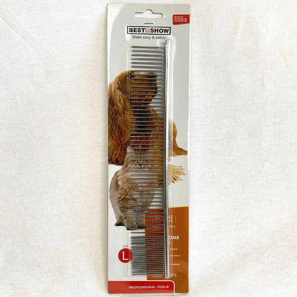 BESTINSHOW Steel Comb Large Grooming Tools Best In Show