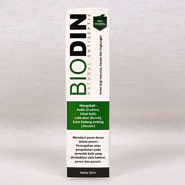 BIODIN Spray Natural Antiseptic 20ml Pet Medicated Care Biodin