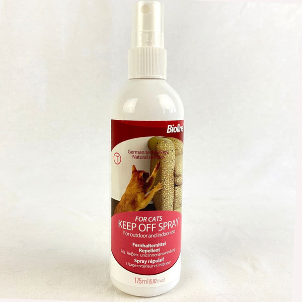 BIOLINE Cat Keep Off Spray 175ml Cat Sanitation Bioline
