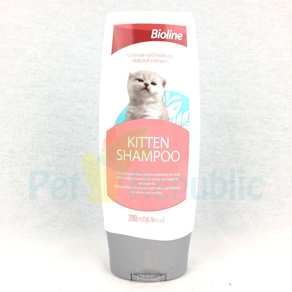 BIOLINE Cat Shampoo For Kitten 200ml - Pet Republic Jakarta