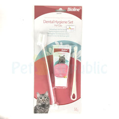 BIOLINE Dental Hygiene Set For Cat - Pet Republic Jakarta