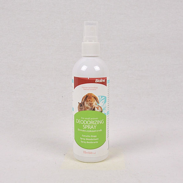 BIOLINE Deodorizing Spray For Small Animal 175ml Grooming Pet Care Bioline