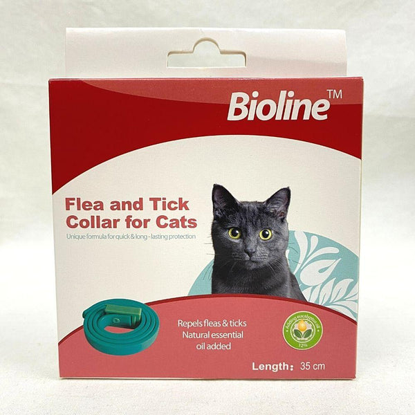 BIOLINE Flea and Tick Collar For Cat Pet Collar and Leash Bioline