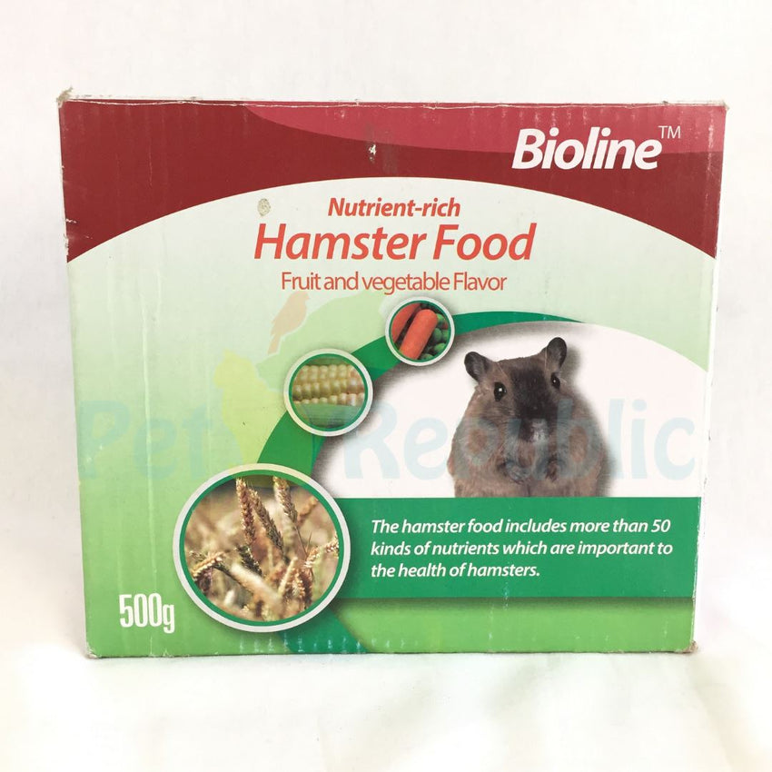 BIOLINE Hamster Food Fruit and Vegetables 500gr - Pet Republic Jakarta