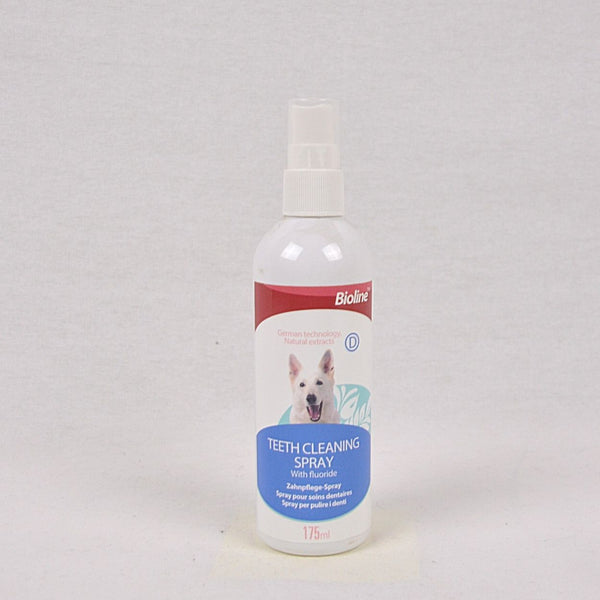 BIOLINE Teeth Cleaning Spray 175ml Grooming Pet Care Bioline