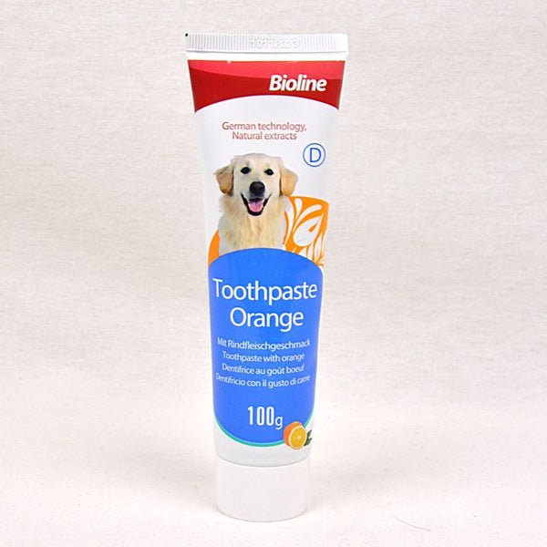 BIOLINE TOOTHPASTE ORANGE 100G Grooming Pet Care Bioline