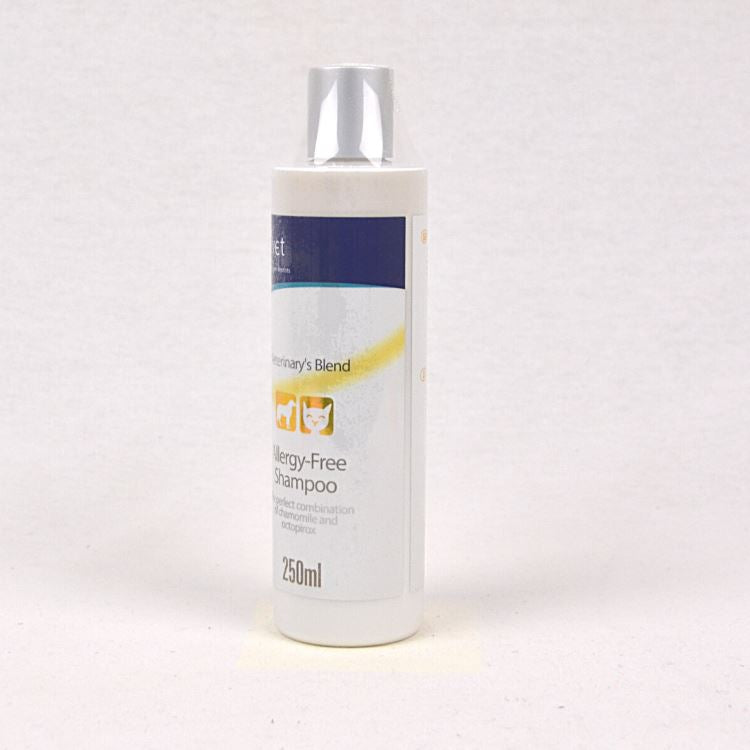 BIOVET Allergy Free Shampoo 250ml Grooming Medicated Care Biovet