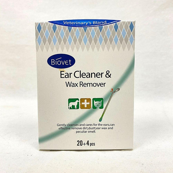 BIOVET Ear and Wax Remover Swab 24pcs Grooming Pet Care Biovet