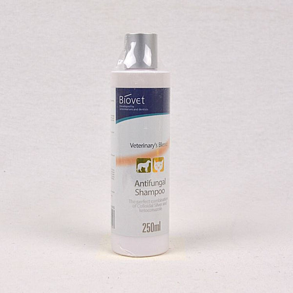 BIOVET Silver C Antifungal Shampoo 250ml Grooming Medicated Care Biovet