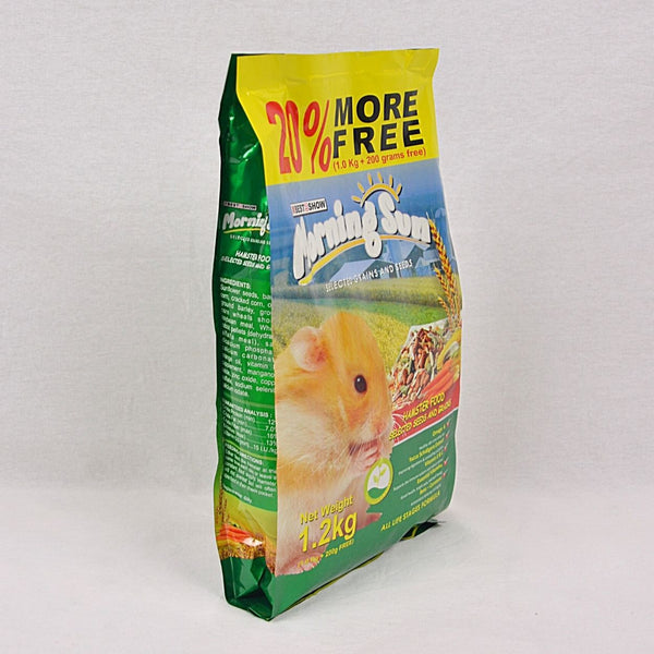 BIS Morning Sun Hamster Food Seed and Grain 1.2kg Small Animal Food Best In Show