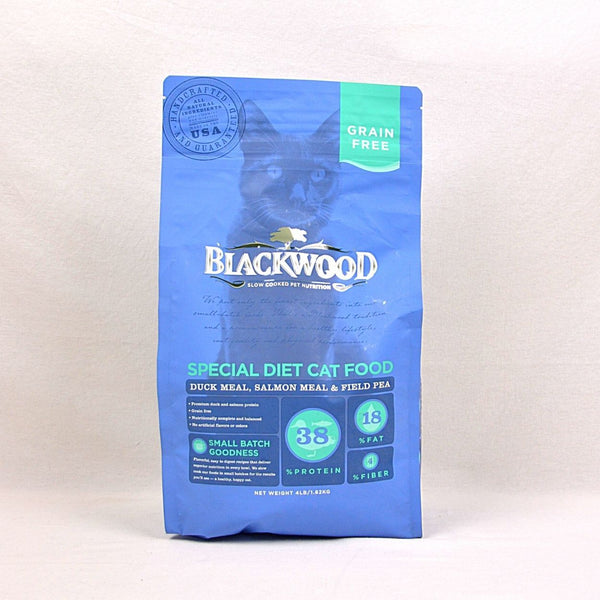 BLACKWOOD Cat Grain Free Duck & Salmon 1.8kg Cat Dry Food Blackwood