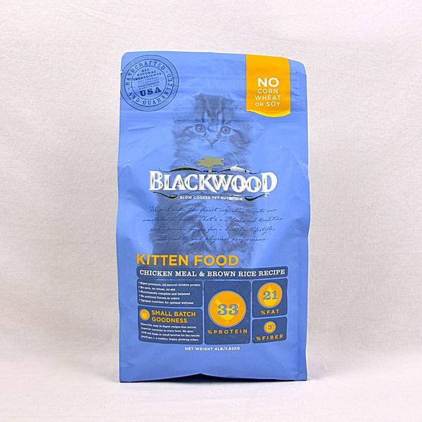 BLACKWOOD Kitten Chicken and Rice 1,8kg Cat Dry Food Blackwood