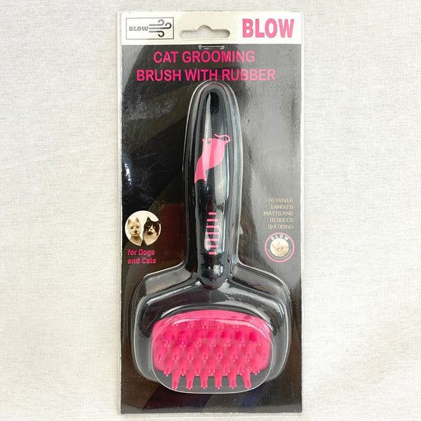 BLOW BL05 Cat Slicker Brush Rubber Grooming Tools Blow