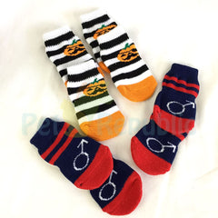 BOBO BO058 Dog Knit Socks Large - Pet Republic Jakarta