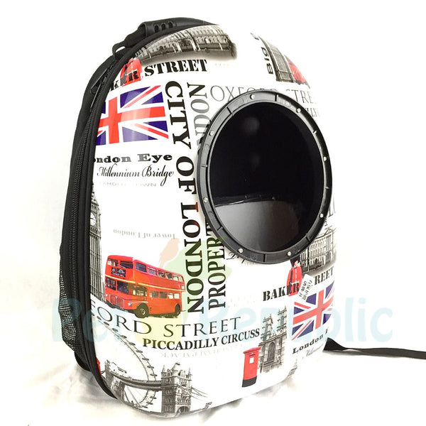 BOBO BO7055 Pet Astronaut Bags LONDON - Pet Republic Jakarta
