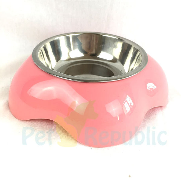 BOBO BOH0290 Pet Bowl Flower Small - Pet Republic Jakarta