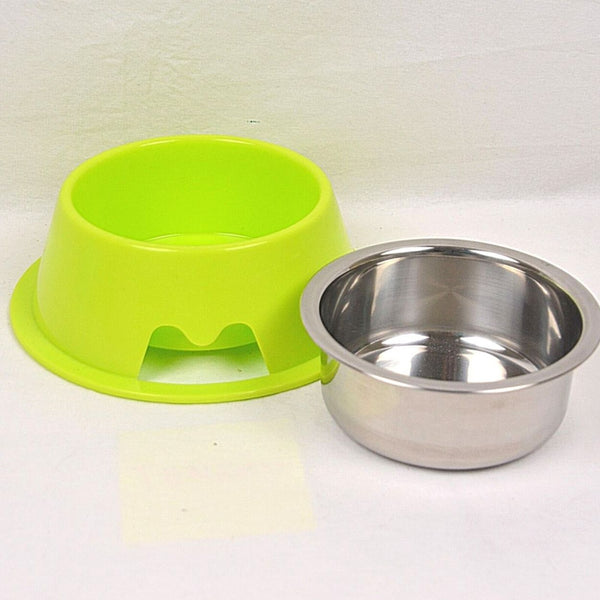 BOBO Y013P Plastic Bowl Steel 19x6.5cm Pet Bowl Bobo